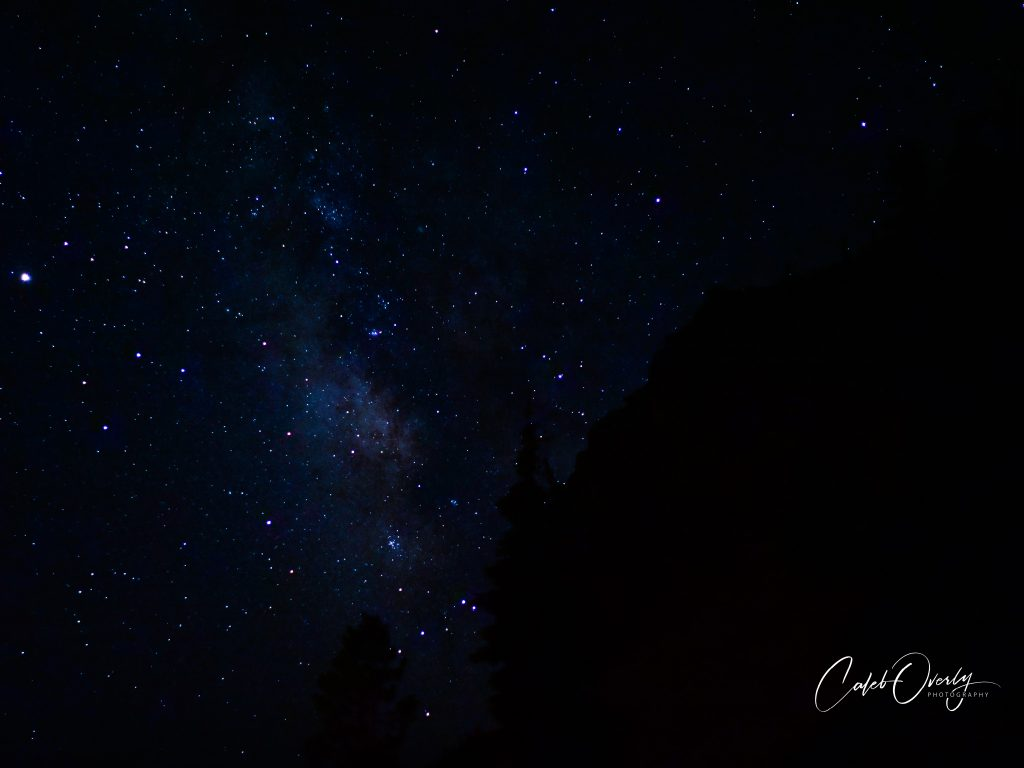 Stary Sky Crater Lake National Park 2020